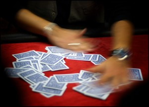 """Texas Hold'em: Shuffling Cards"""